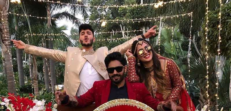 Mehwish Hayat paired with Shahveer jafry for Abrar-ul-haq's song video