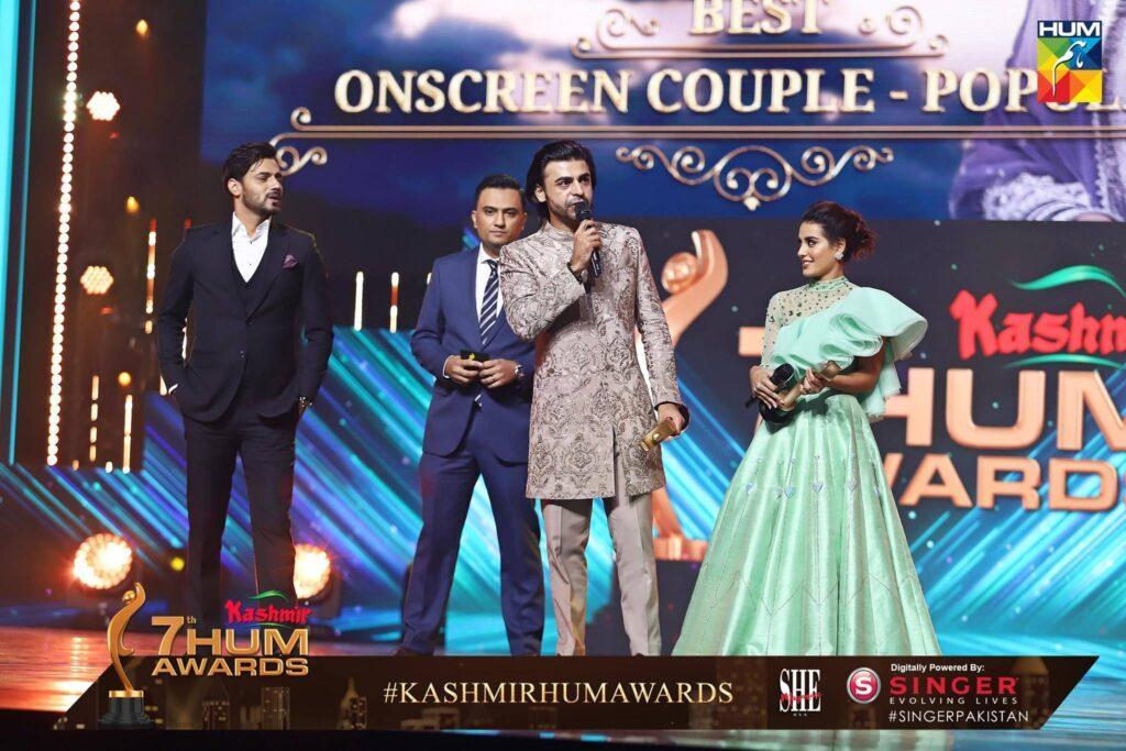 The winners of 7th Hum Awards