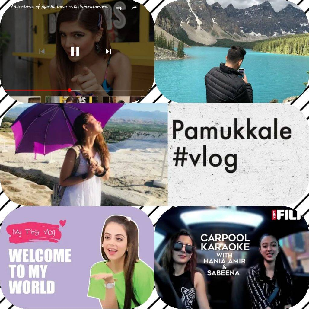 Pakistani celebrities who turned into vlogger