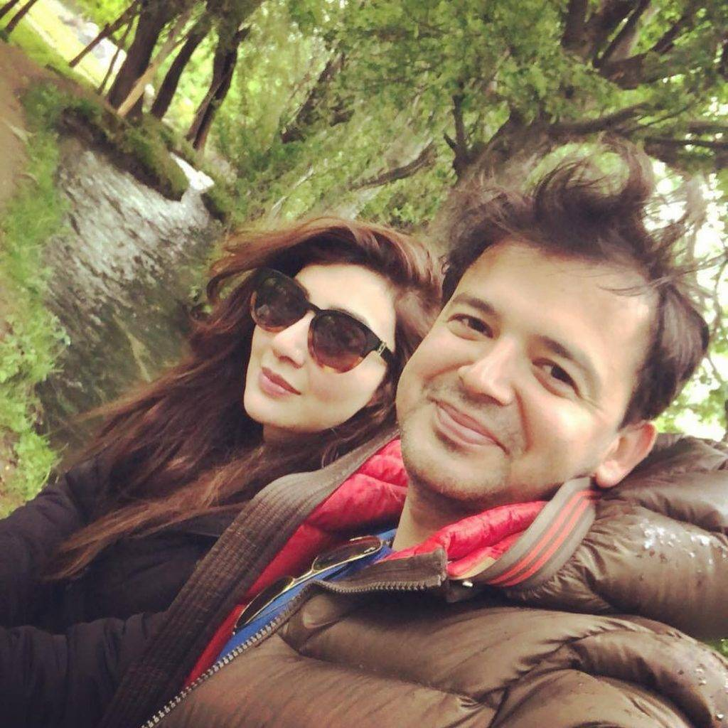 Former actress Aisha Khan & Maj Uqbah blessed with a baby girl