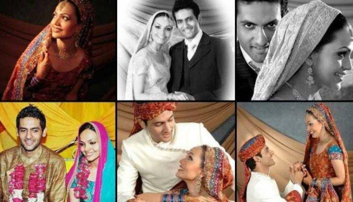Wedding Pictures Of Amna Sheikh And Mohib Mirza