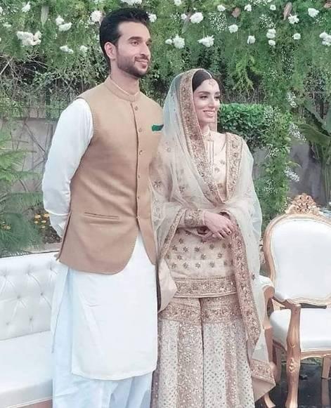 Zainab Abbas ties Knot With Hamza Kardar