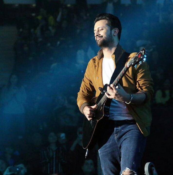 Atif Aslam blessed with second baby boy