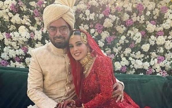Iqra and Yasir finally ties the knot