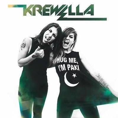 Asim Azhar collaborate with American Band Krewella