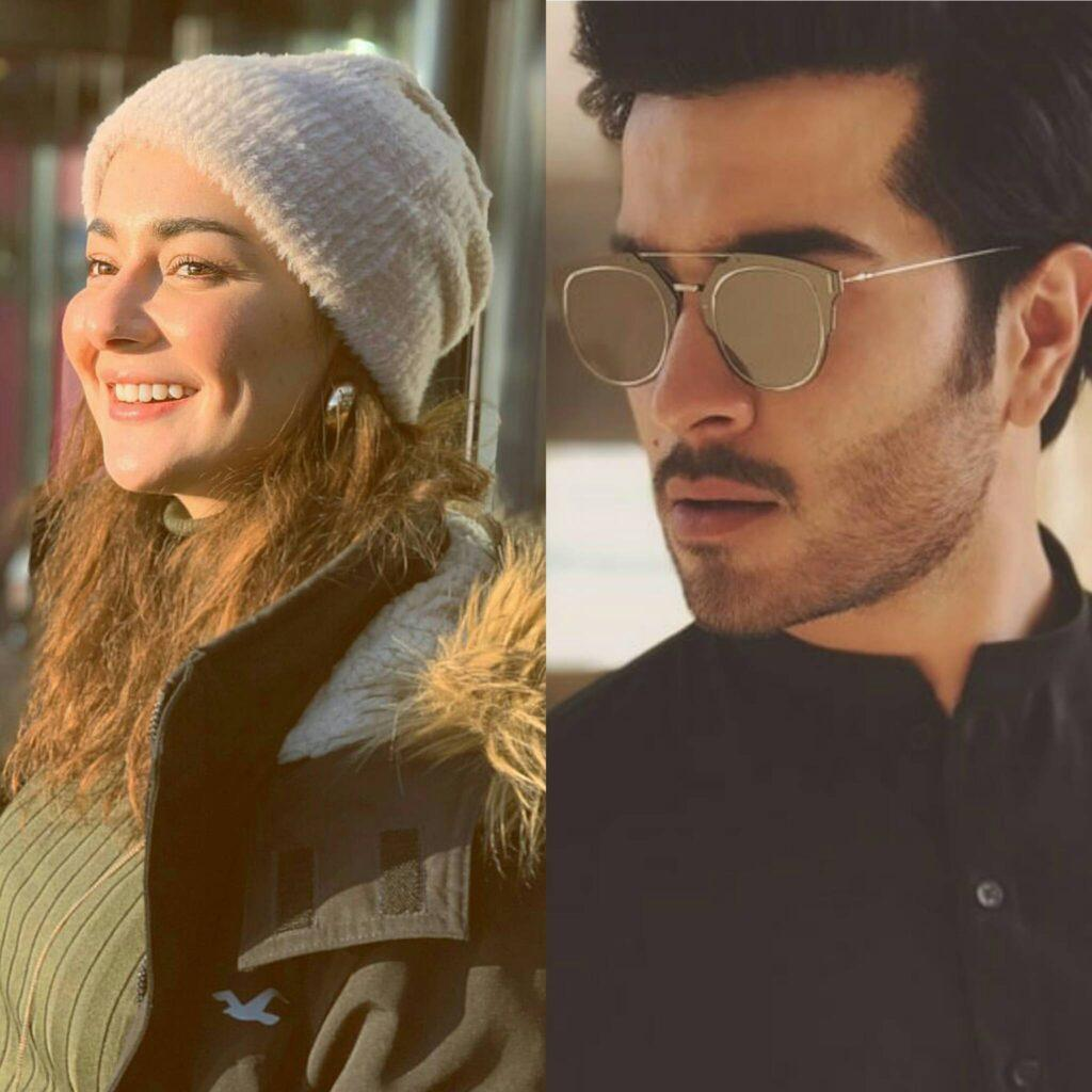 "Feroz Khan and Hania Amir together in ARY Digital's ""Ishqiya"""