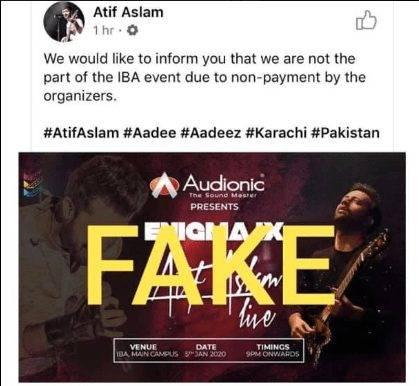 An overview on Atif Aslam's concert.