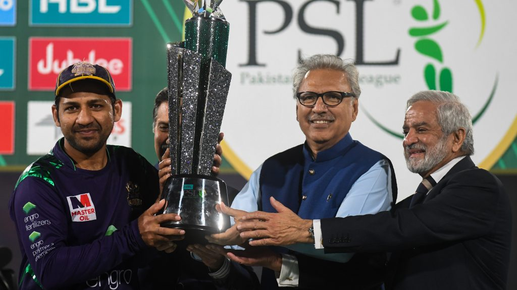 PSL 5 trophy unveiled at National Stadium