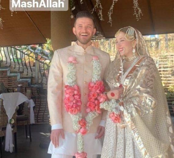Hamza & Naimal giving couple goals at Naimal's sister nikah