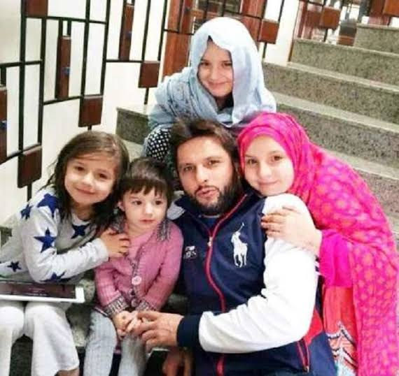 Shahid Afridi blessed with a daughter