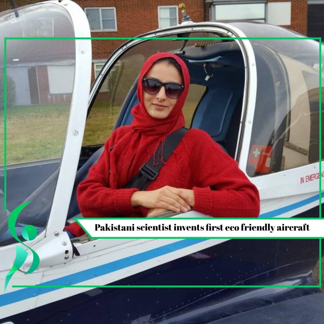 PakistaniScientistinventsfirsteco friendlyaircraft