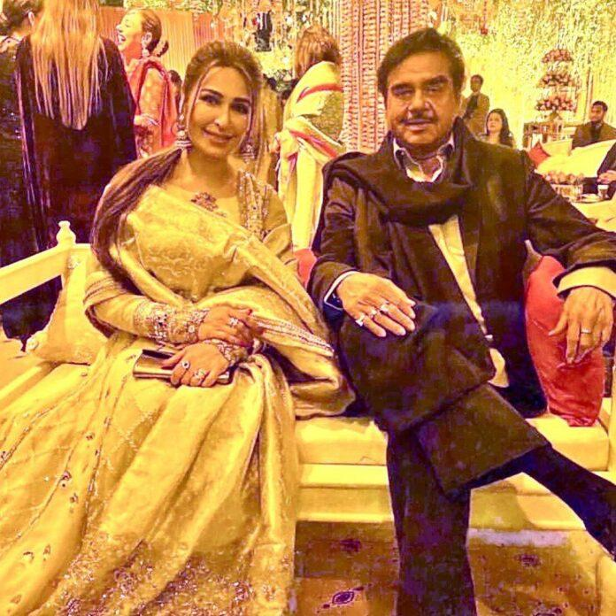indian star at pakistani wedding