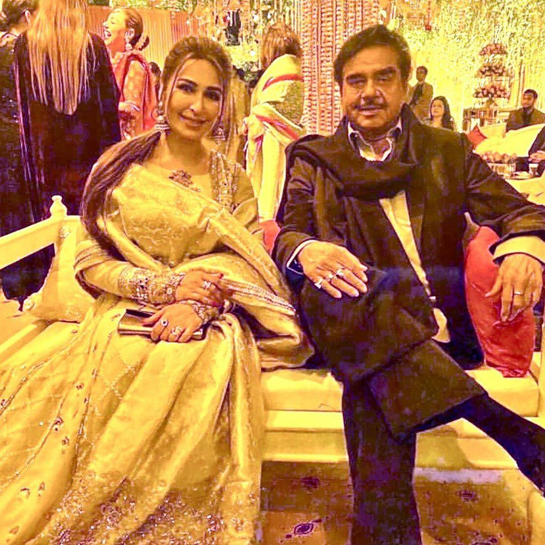 indian star at pakistani wedding