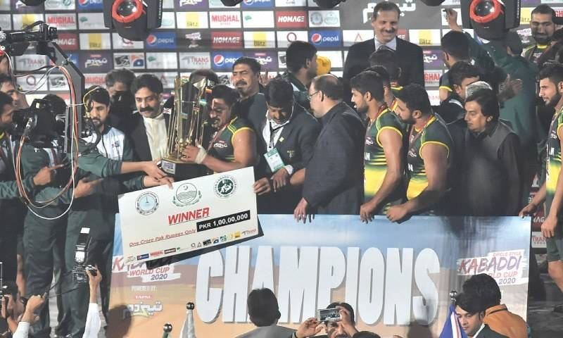 Another addition to the sports WorldCup trophies collection for Pakistan!