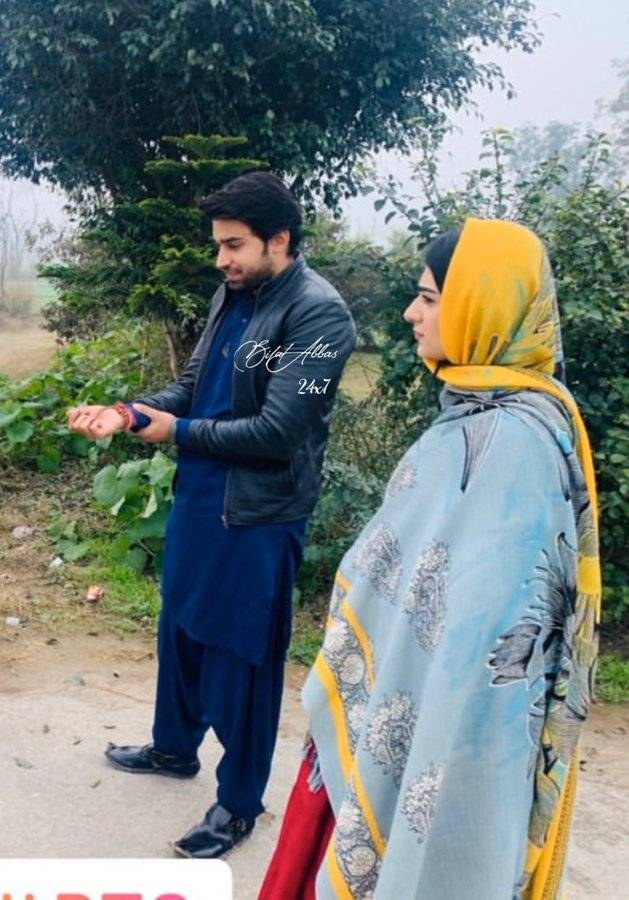 Sarah Khan and Bilal Abbas, pairing up for an exciting web series