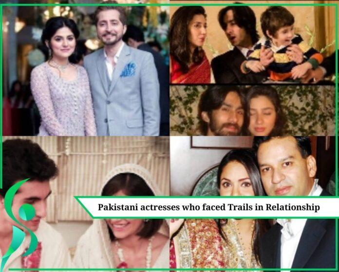 Pakistani actresses divorced