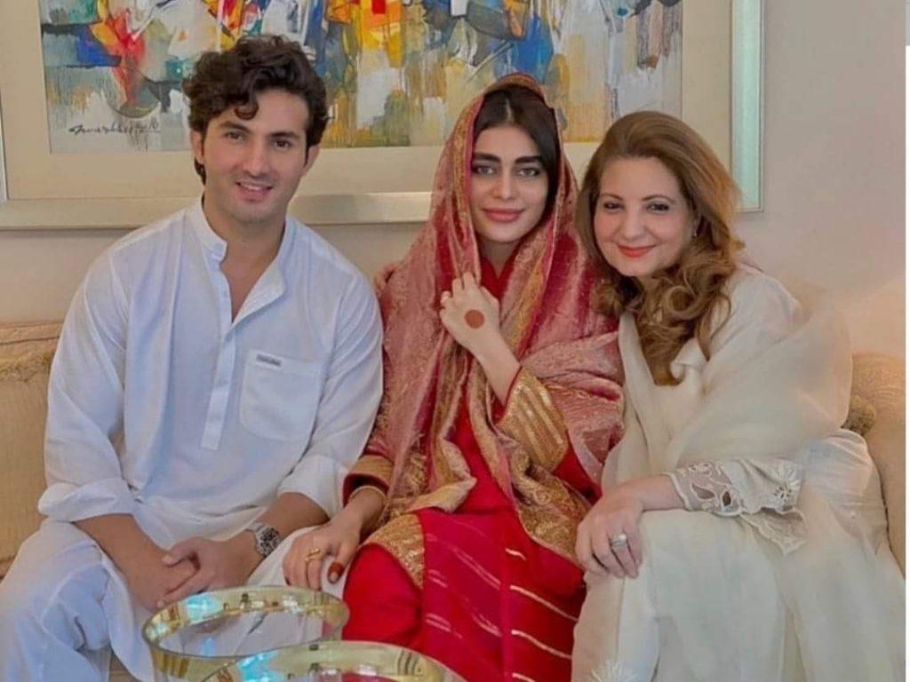 Sadaf Kanwal And Shahroz Sabzwari Have Tied The Knot