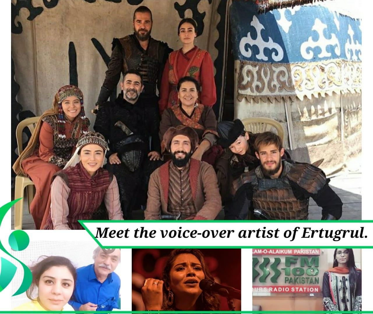 Meet the voice-over artist behind Ertugrul.