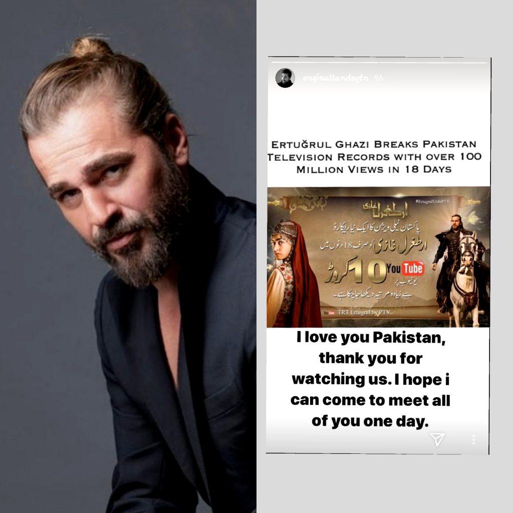 Ertugrul stars eager to visit Pakistan