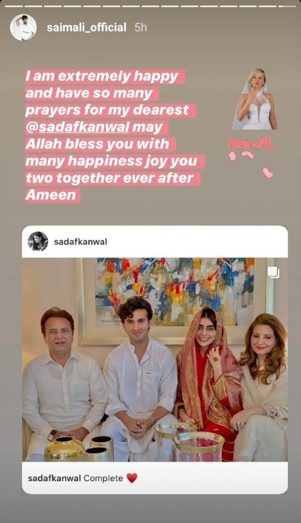 Celebrity Reaction On The Nikkah Of Shahroz And Sadaf