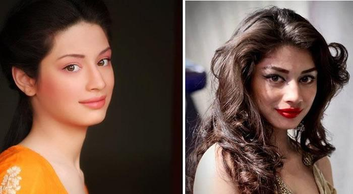 Evolution of 12 Pakistani Celebrities