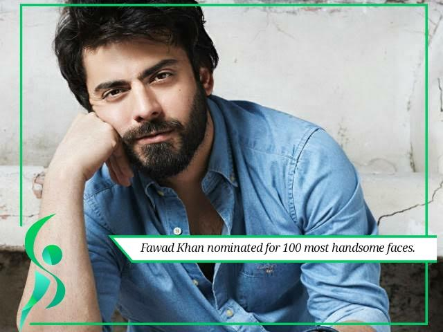 Fawad Khan nominated for 100 most handsome faces.