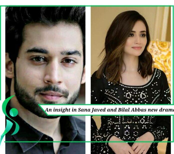 Sana Javed and Bilal Abbas new drama.