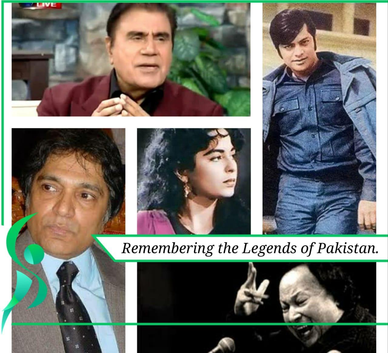 The legends of Pakistan