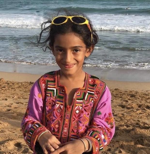 balochi girl