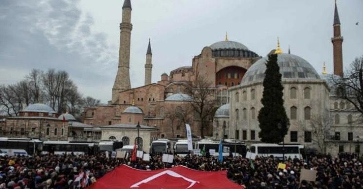 turkey's hagia sophia mosque