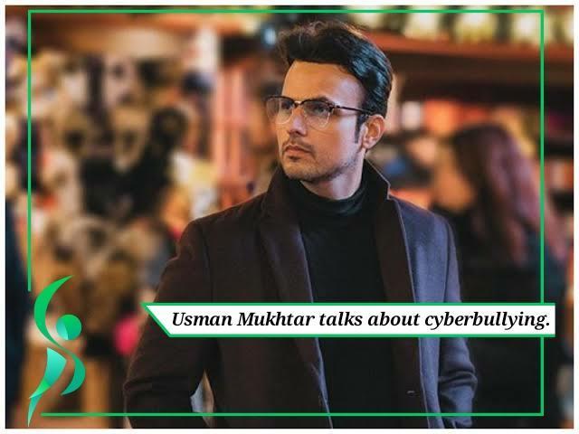 Usman Mukhtar talks about cyberbullying.
