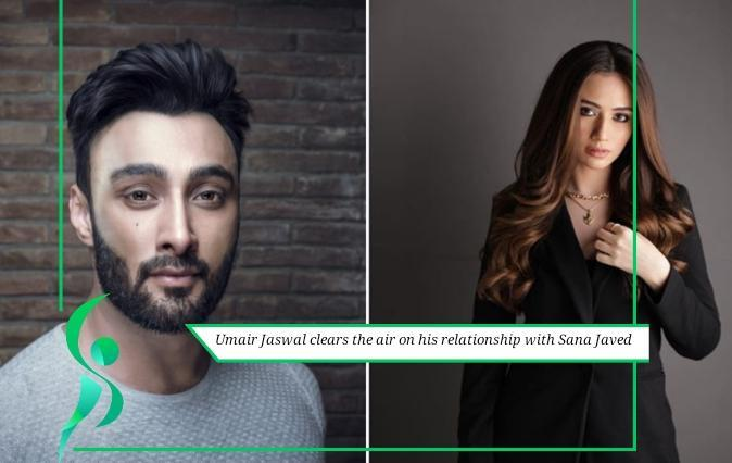 Singer Umair Jaswal clears the rumors of his relationship with Sana Javed.