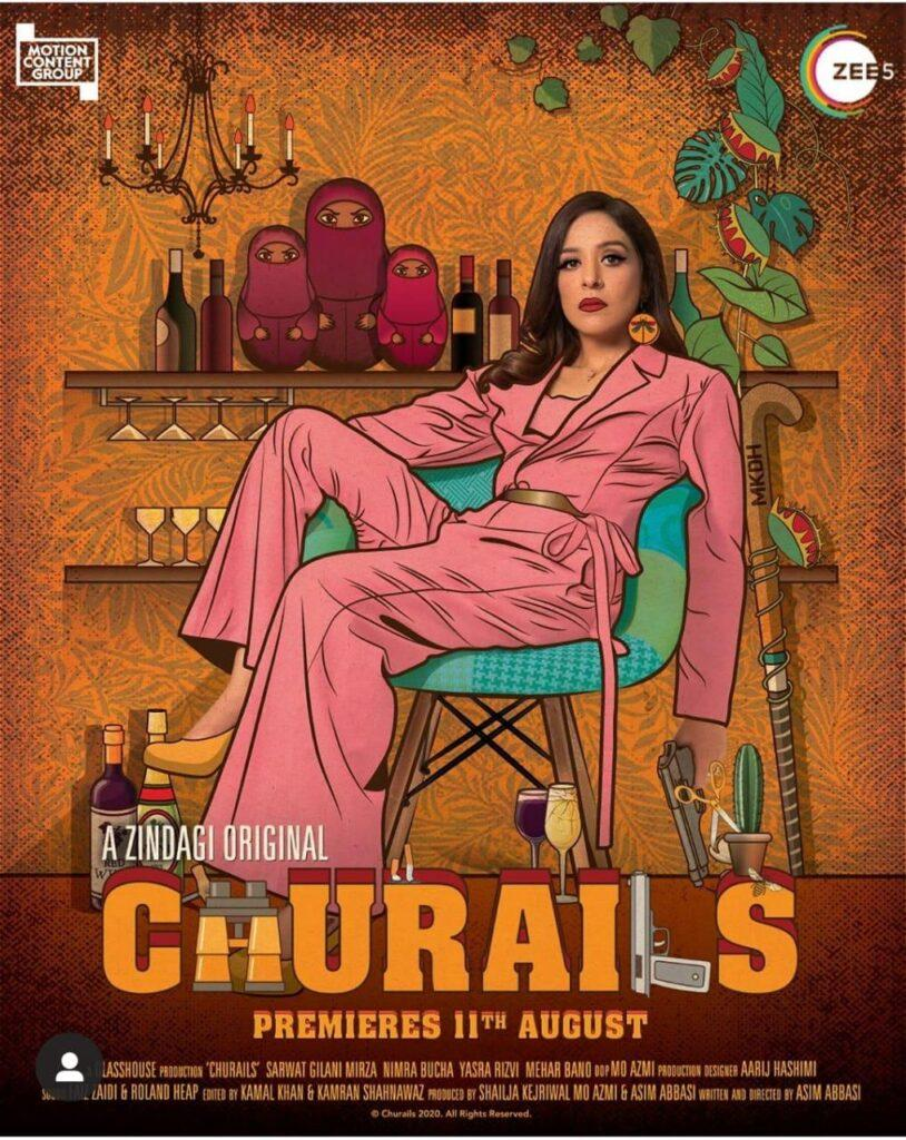 Sarwat Gillani's starrer Churail, to make a powerful appearance on ZeeTV