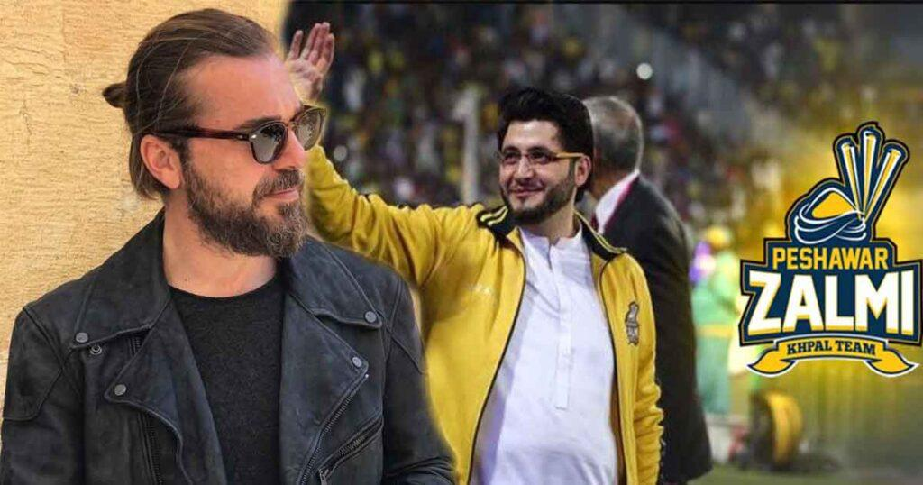 Is Engin Altan Aka Ertugrul The New Brand Ambassador Of Peshawar Zalmi?