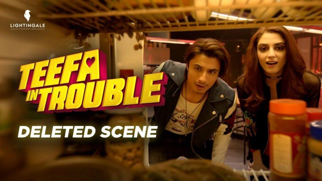 deleted scenes of Teefa in Trouble