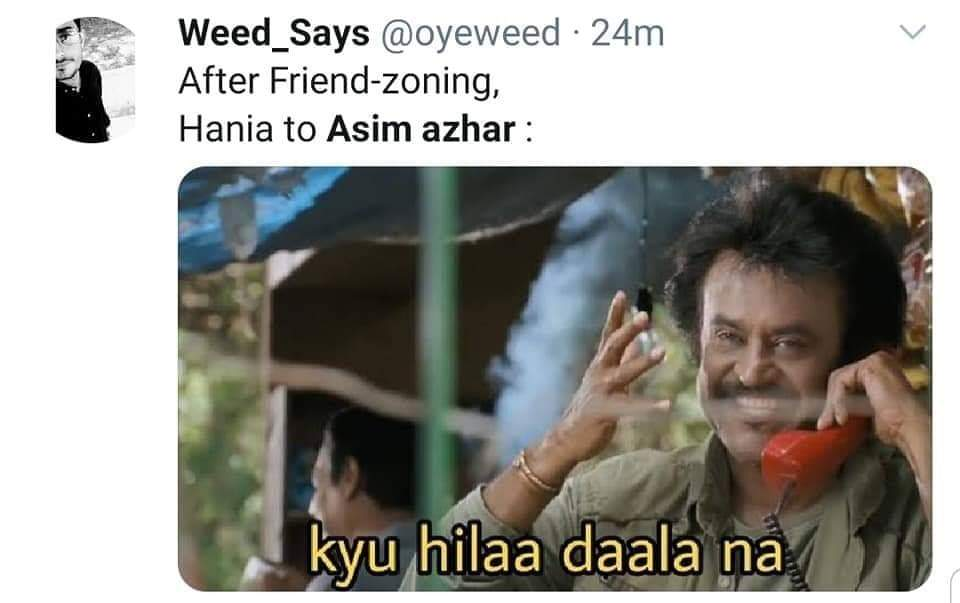 Memes About Hania Amir and Asim Azhar's Breakup!