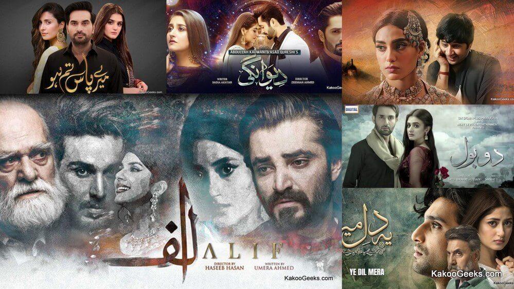 top 5 Pakistani dramas
