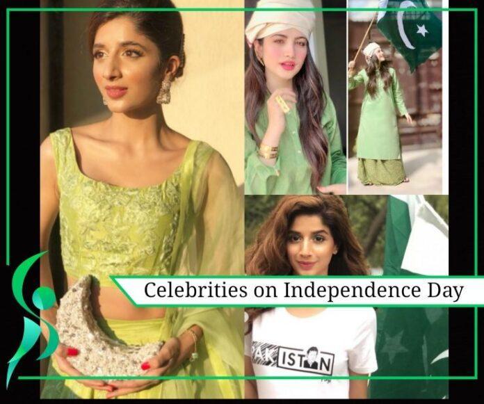 Showbiz stars on Independence Day