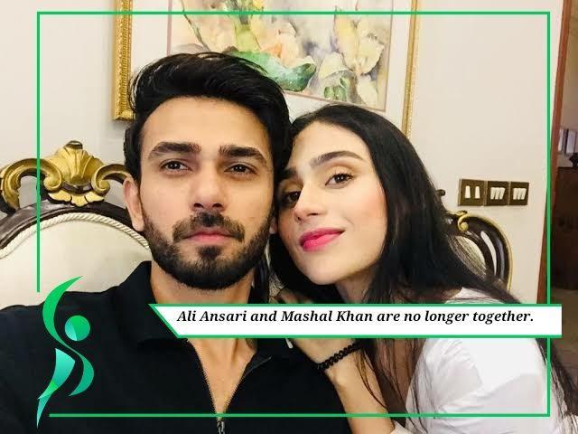 Ali Ansari and Mashal Khan called it quits