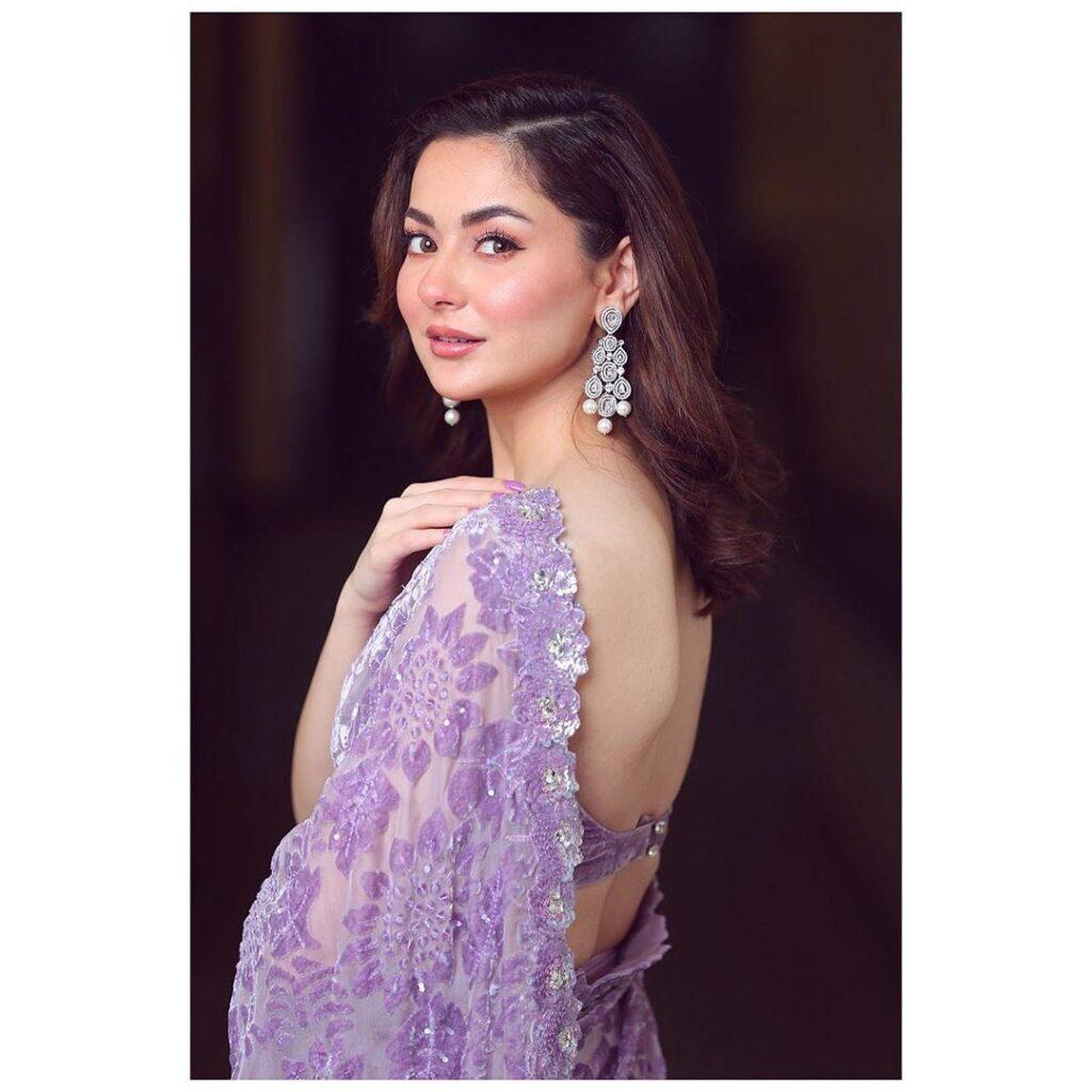 Hania Amir's backless game is always strong