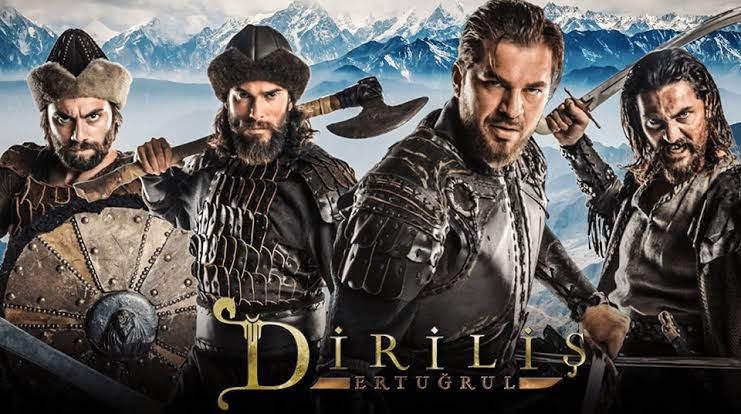 Ertugrul ghazi and Halime sultan wishing independence day