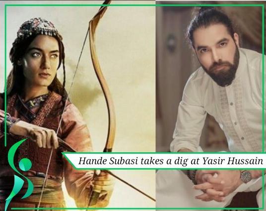 Hande Subasi takes a dig at Yasir Hussain