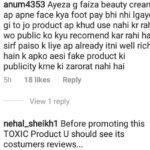 Ayeza-Khan-Under-Hot-Water-For-Promoting-Faiza-Beauty-Cream-2