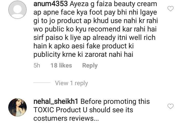 Ayeza Khan bashed over whitening cream promotion