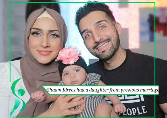 Shaam Idrees and her daughter
