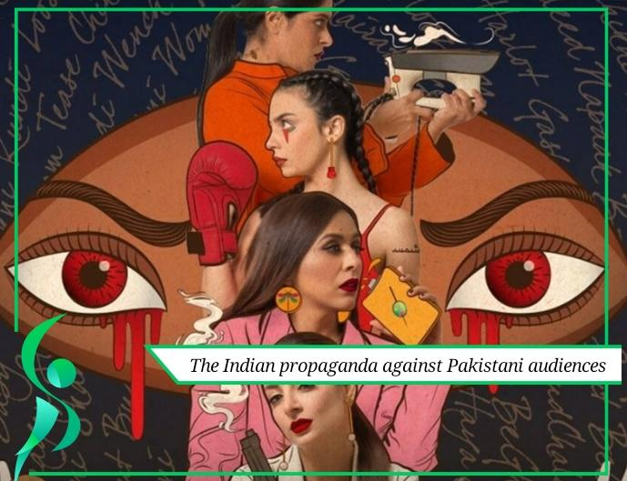 The Indian propaganda against Pakistani audiences