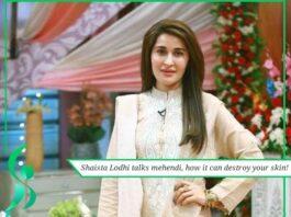 Shaista Lodhi talks mehendi