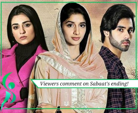viewers comment on Sabaat's ending
