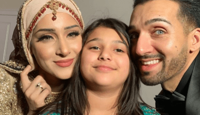 The controversial vlogger, Shaam Idrees, introduces her first daughter