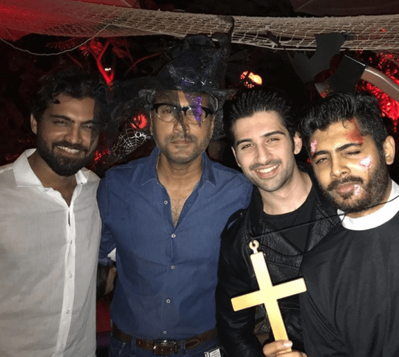 how Pakistani celebrities celebrate Halloween